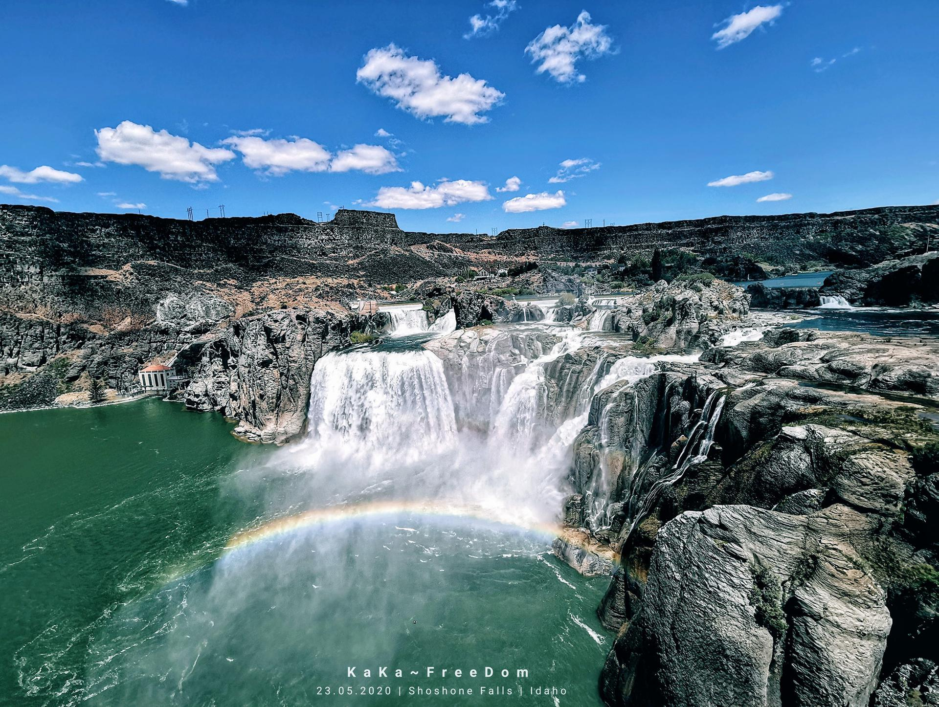 Shoshone Falls in Idaho (USA)