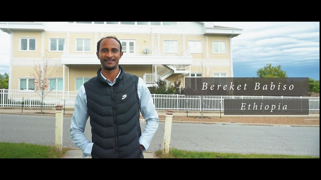 Bereket Babiso an der Maharishi University of Management