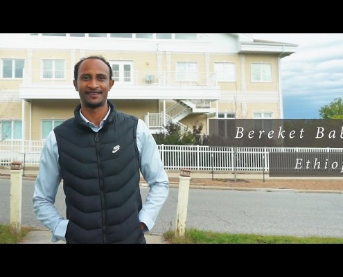 Bereket Babiso sa Maharishi University of Management