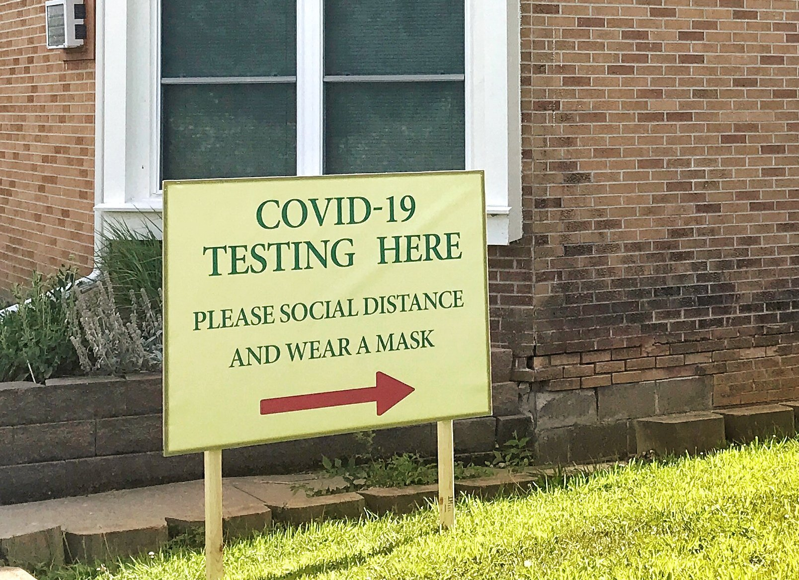 COVID-19 testing is done on all students when they arrive on campus
