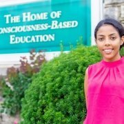 Hlina Beyene loves everything at Maharishi International University -- The Home of Consciousness-Based Education