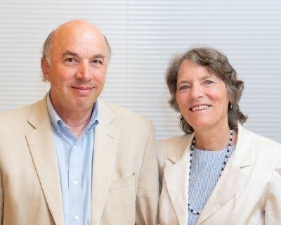 Dean Greg Guthrie en directeur Elaine Guthrie