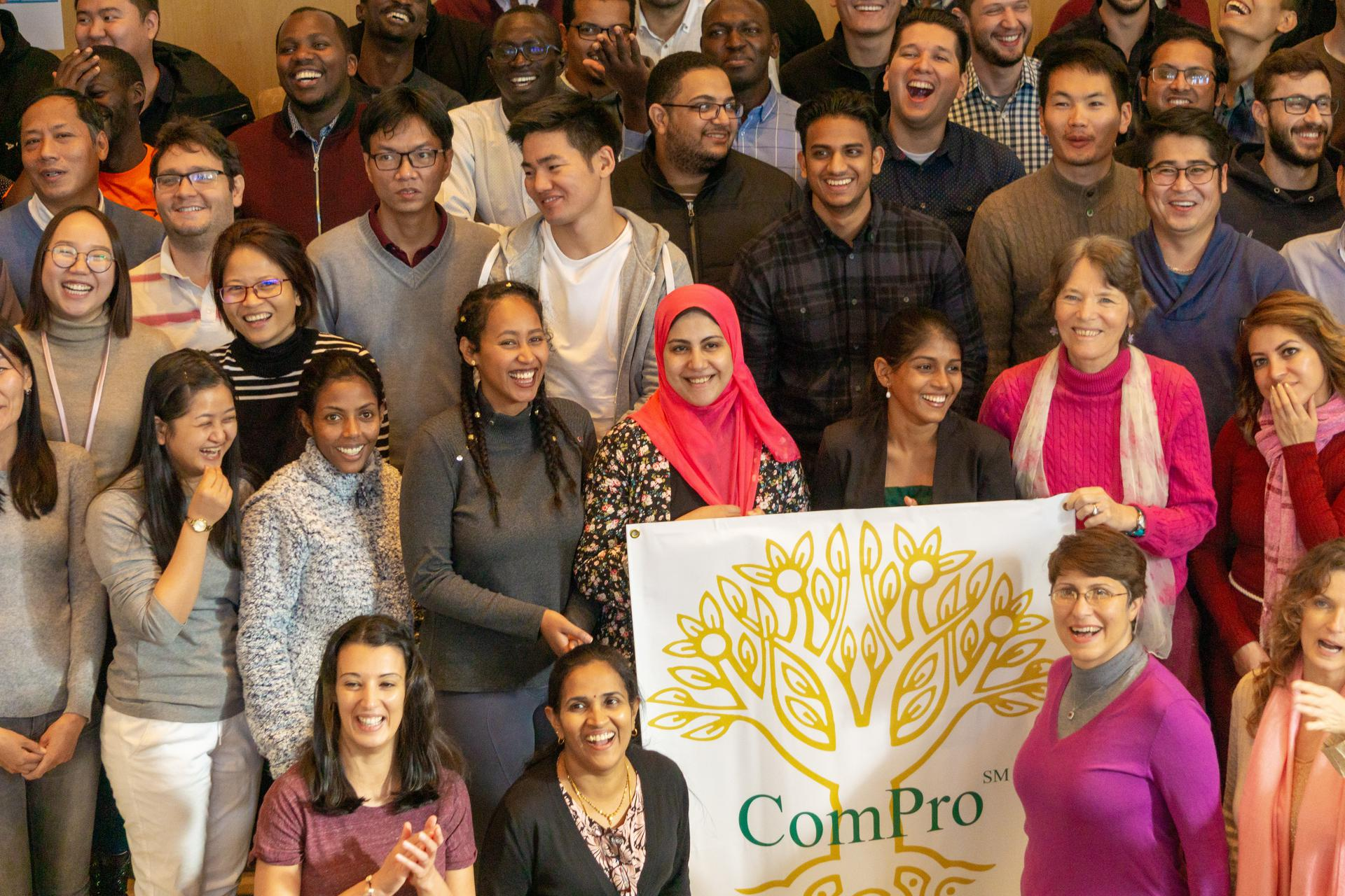 ComPro students come from all over the world!
