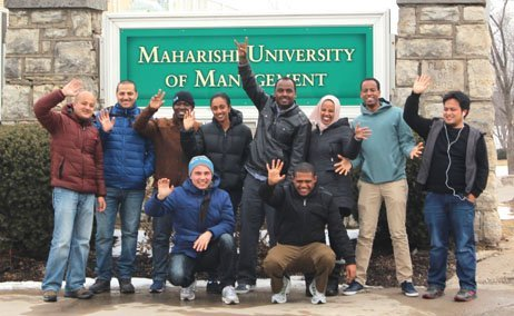 Happy and Friendly Students Enjoy Maharishi University of Management http://mscs.mum.edu